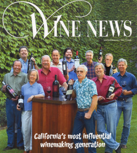 The Wine News- California's Most Influential Winemaking Generation